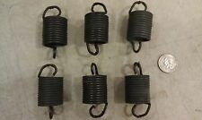 "5GG61 SET OF 6 SPRINGS FROM WASHING MACHINE (TUB CONTROL): 2-1/2"" X 1-3/8""  GC"