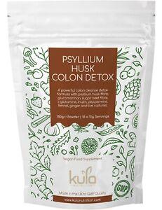 Psyllium Husk Colon Cleanse and Detox Powder - Digestive Health Drink - 180g