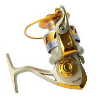 10BB Ball Bearing Saltwater Freshwater Fishing Spinning Reel 5.5:1 Safety Hot EN