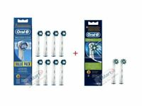 10x Genuine Oral B Electric Toothbrush Replacement Heads Tooth Brush Head (8+2)