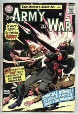 Our Army At War #157-1965 gd/vg Sgt. Rock Sgt Joe Kubert