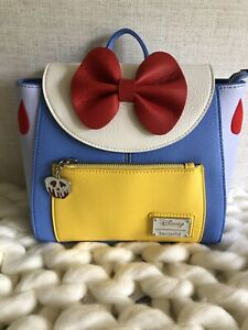 New with Tags! Loungefly Disney Snow White Mini Backpack Cosplay