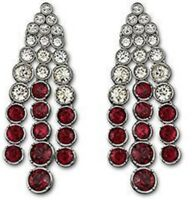 Swarovski Hot Siam Clip Earrings 1021832