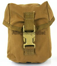 NEW USMC MOLLE II 100 Round Saw Ammo Pouch General Utility Pouch ILBE COYOTE NIB