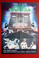 FRANKENSTEIN GENERAL HOSPITAL 1988 RARE EXYU MOVIE POSTER