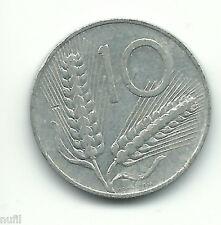 Italia Italy 10 Lire, 1956 KM# 93
