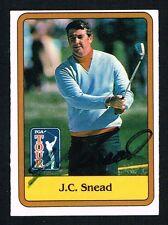 J. C. Snead #54 signed autograph auto 1981 Donruss Golf Trading Card