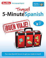 Berlitz Language: 5-minute Travel Spanish - Learn Spanish