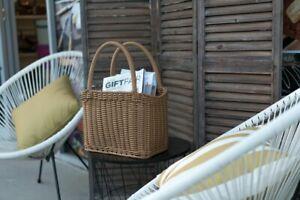 Hand Woven Storage Basket Icon Chef
