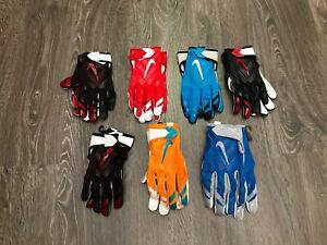Nike NFL Teams Official Vapor Knit Football Receiver Gloves NEW PGF397