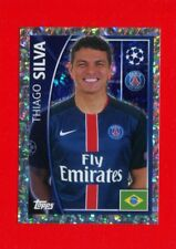 CHAMPIONS LEAGUE 2015-16 Topps -Figurine-stickers n. 19 - SILVA - PSG -New