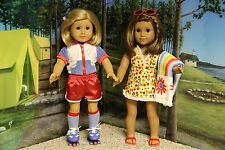 """American Girl Julie """"2-in-1 Summer Outfit"""" - COMPLETE-RETIRED-EUC  (NO DOLL)"""
