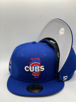 Chicago Cubs New Era NFL Local C1 State Collection 59Fifty Fitted Royal NWT
