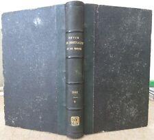 REVUE DE BRETAGNE ET DE VENDEE 1861 AFFAIRE DE QUIBERON LEGENDE MERLIN HISTOIRE
