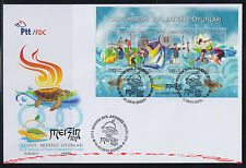 TURKEY 2013, 2013 MERSIN 17TH MEDITERRANEAN GAMES ( SPORT , ANIMAL ) FDC