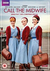 Call the Midwife - Series 5 + 2015 Christmas Special [DVD] [2016] - DVD  O8VG