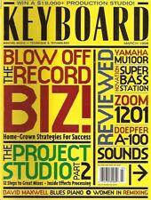 Keyboard Magazine, March 1998, Yamaha MU100R, Novation Super Bass Station