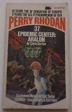 #37 Perry Rhodan EPIDEMIC CENTER:  ARALON science fiction paperback ACE 66020
