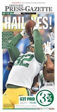 Packers vs Lions Hail Mary - Aaron Rodgers - Green Bay Press Gazette Newspaper