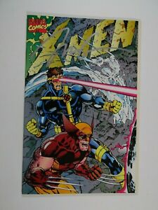 Marvel X-Men #1 Fold Out Cover (1991 Series) Near Mint Signed by Jim Lee Comic