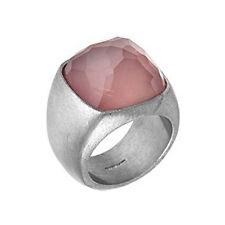 BREIL Milano BJ0476 EDEN  Edelstahl Ring mit Quarz Rosa Größe 54 ( 17,2 mm ) NEU
