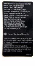HARLEY DAVIDSON  MOTORCYCLE MANUAL WARNING SERVICE STICKER  RACING BIKE EMBLEM
