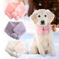 SOFT PLUSH CAT DOG PUPPY WINTER CHRISTMAS STRIPY SCARF DRESS UP XMAS PUPPY GIFT