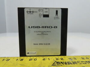 Acces USB-IIRO-8 8 Isolated Digital Inputs 8 Relay Outputs