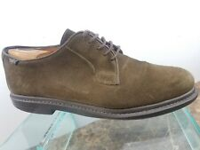 Camper Forest Green Suede Leather Casual Oxford Lace Up Shoes Mens Sz 10 / 43