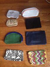 Sisley YSL Dior Estee Lauder Clarins Makeup Cosmetic Bag Case Lots