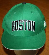 Boston Celtics adidas NBA Basketball Team Fitted 7 1/2 Cap Hat Green Wool Blend