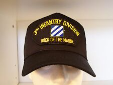 """#1413 3rd Third Infantry Division """"Rock Of The Marne"""" Cap Ballcap Hat"""