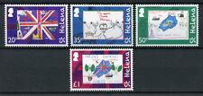 St Helena 2012 MNH Queen Queen Elizabeth II Diamond Jubilee 4v Set Art Stamps
