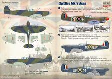 Imprimé échelle 1/72 Supermarine Spitfire Mk. V # 72155