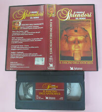 VHS film I GRANDI SPLENDORI DEL MONDO Il fascino dell'antichita' (F171) no dvd