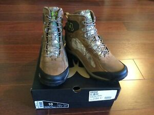 NWT $175 Under Armour Wall Hanger Realtree Camo Goretex Hunting Boots Size 10 UA