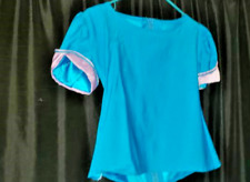 Girls CUSTOM OOAK 2 piece set CASUAL pageant WEAR pants shirt TEAL lilac