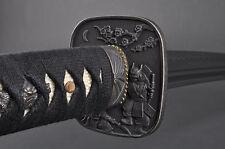 Fully Hand Forged Warrior & Fuji Wakizashi Sword #133