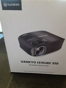 "VANKYO Leisure 510 Full HD Movie Projector 1280 x 768 Resolution 230"" BRAND NEW"
