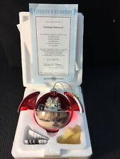 Thomas Kinkade Hidden Retreat Hidden Treasures Musical & Motion Ornament #A0120