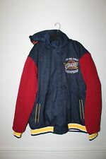 New NBA Cleveland Cavaliers 2016 Champions Reversible hooded  jacket men's XXL