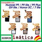 Button Home For Huawei P9 lite Flex Menu Footprint Starter Cable Honor 5C Plus