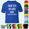 Custom Personalised Baby/Kids/Childrens T-SHIRT Name Funny Gift-Your text/logo