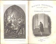 Grossi: Marco Visconti. Storia del trecento. Borroni e Scotti, 1844