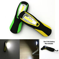 COB LED Work Light Inspection Lamp Outdoor Garage Torch Flashlight Hand Magnetic