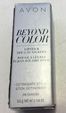 Avon Beyond Color Lipstick SPF15 SHOCKING PINK Discontinued NOS