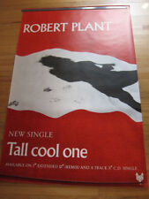 "Bus Shelter 40x60"" Poster~Robert Plant Tall Cool One 1988 Now and Zen Original~"