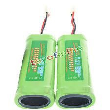 2 pezzi batteria ricaricabile 7.2V 3800mAh Ni-Mh RC