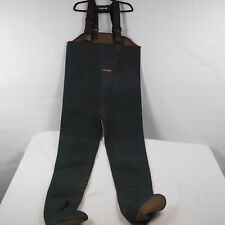 Remington Neoprene Fishing Chest Outdoor Waders Green Brown Size XL