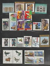 Canada  1994 - 1996 MNH  Collection  50 Stamps $69.1